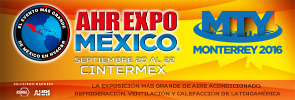 Fuji Electric to Exhibit at the AHR EXPO MEXICO 2016