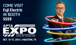 Fuji Electric to Exhibit at the APTA Expo