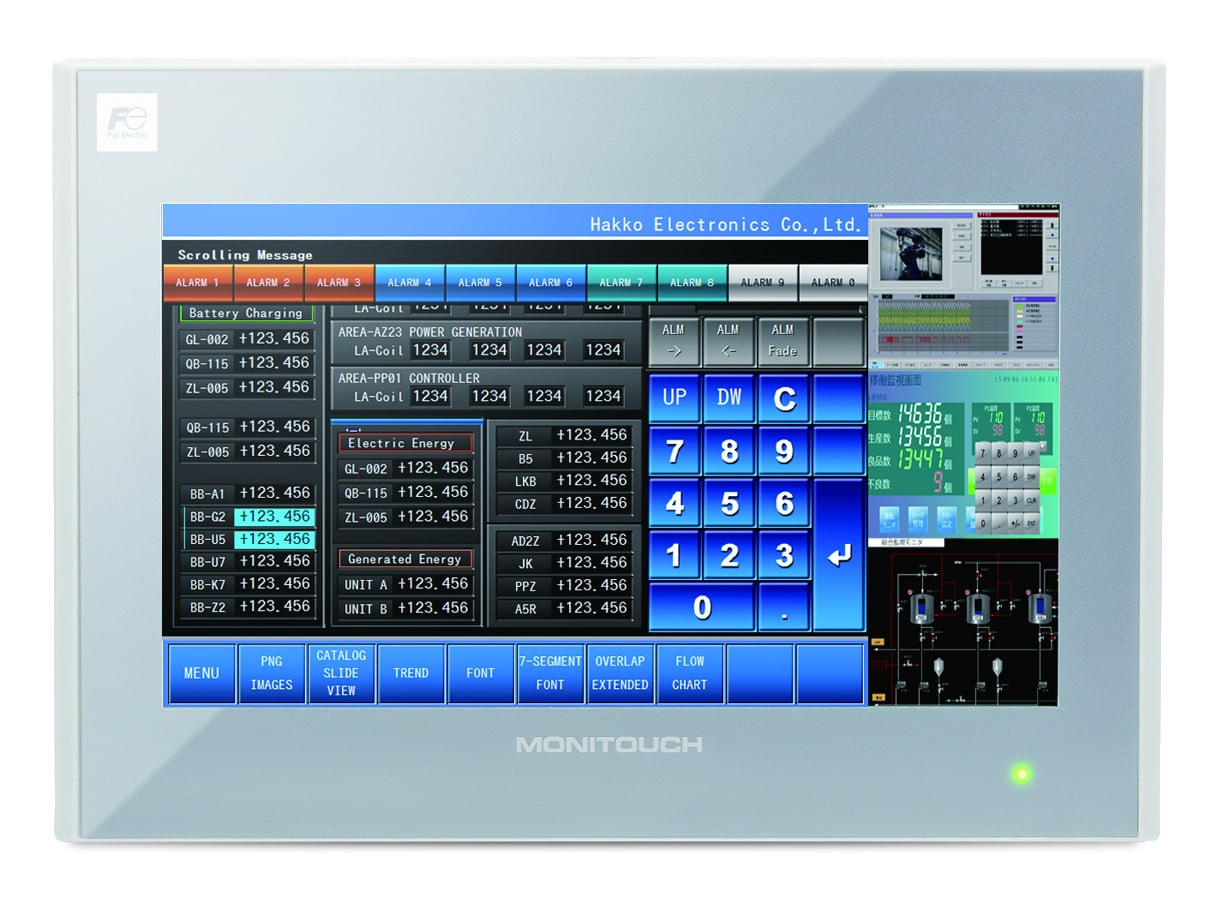 Monitouch Hmi V9 Programmable Hmi Amp Plc Combo Fuji