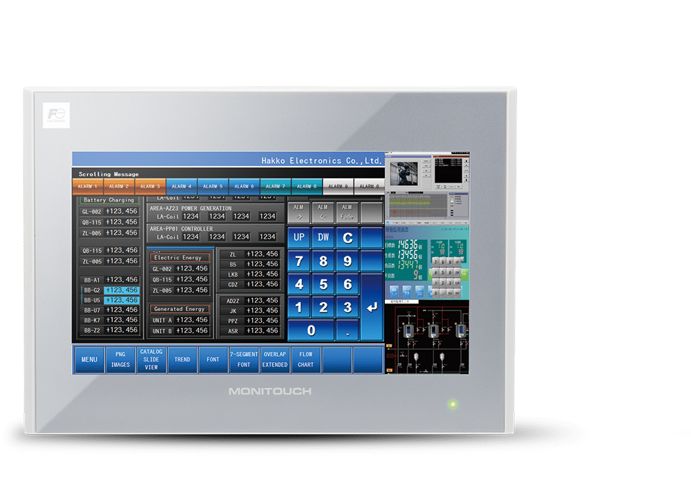 Hmi Operator Panel Human Machine Interface Touch Screens
