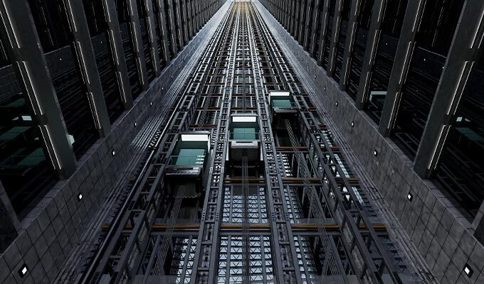 elevators-in-use